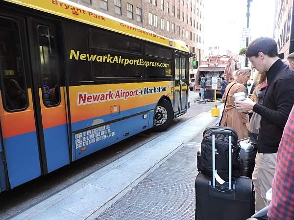 Bus to Newark airport