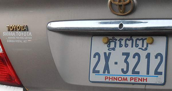 US used car in Phnom Penh