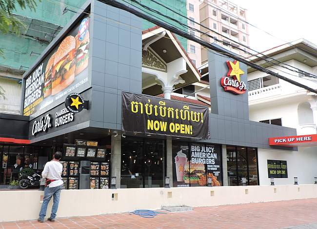 Carl's Jr in Cambodia