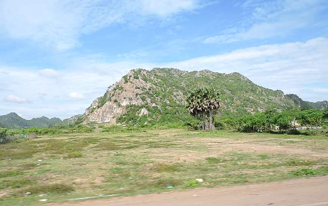 Hills in Kep Province