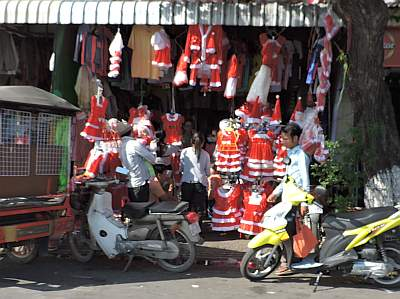 Christmas Day in Phnom Penh